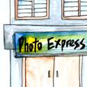 照相馆,相片沖洗店 photography shop
