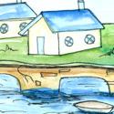 水上房屋 water house