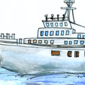 渡轮 ferry