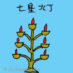 七星灯 star light